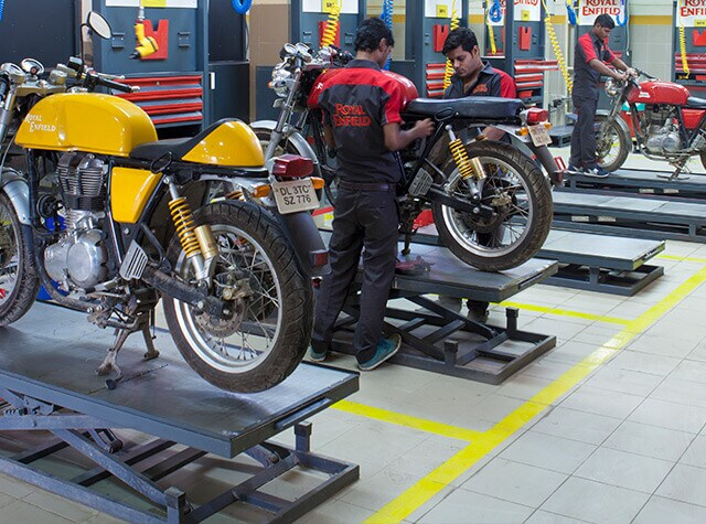Royal Enfield Service Centers