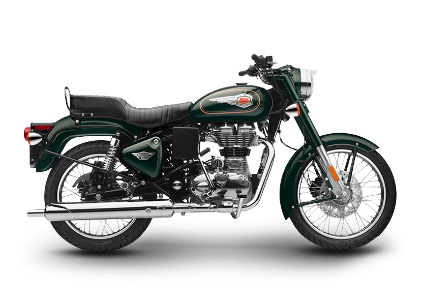 Bullet 500 Forest Green