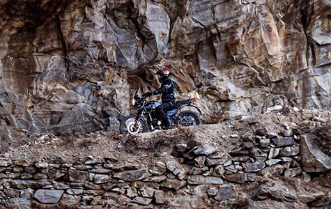 Off-road testing the new adventure motorcycles