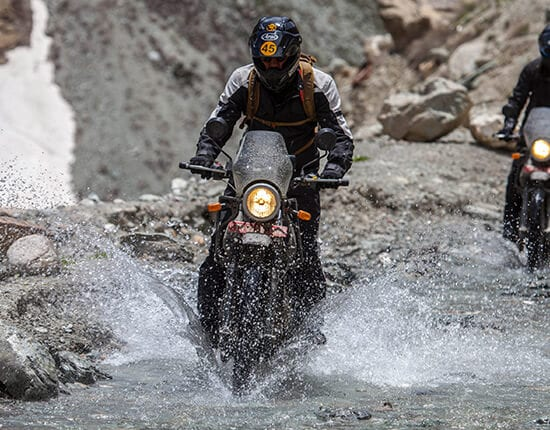 Testing Of The Himalayan