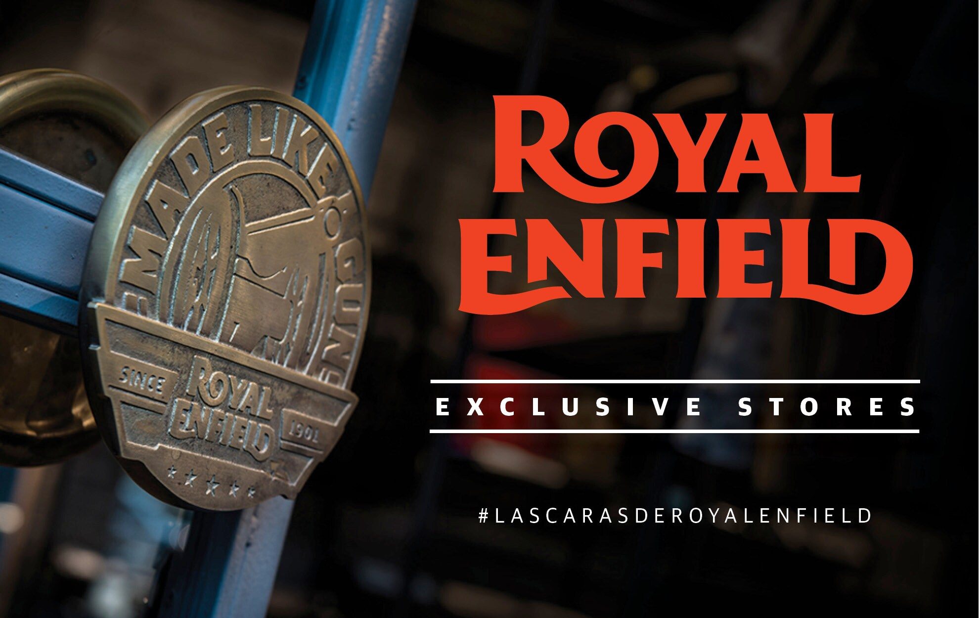 Las caras de Royal Enfield - Madrid