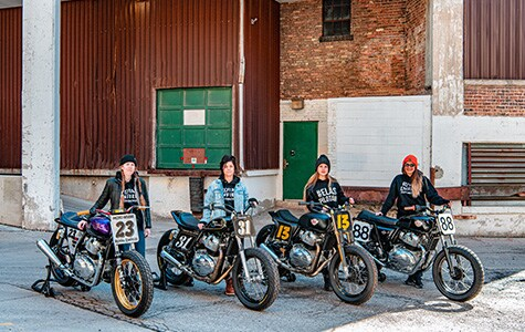 Royal Enfield Announces Flat Track Program for Female Enthusiasts
