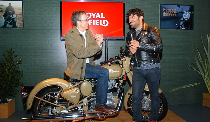 royal-enfield-showcase-in-colombia